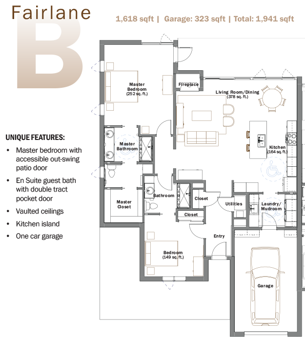 Westwood Patio Homes: patio homes floor plans